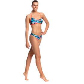 Funkita Tie Down Bikini Top Women Split Scene